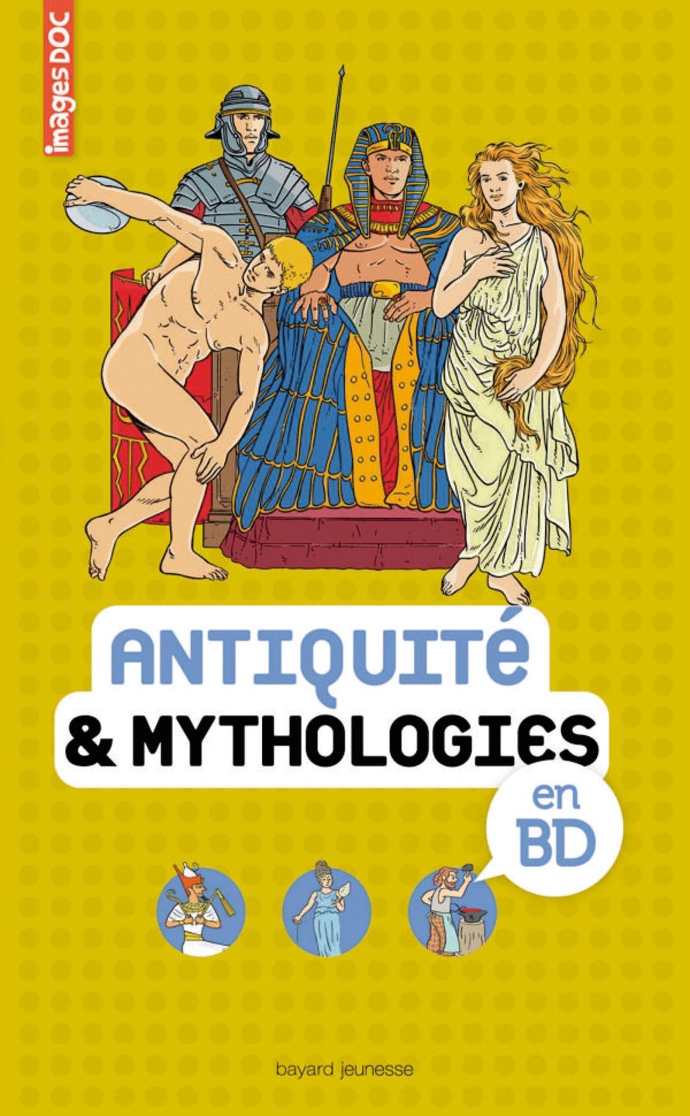 ANTIQUITE & MYTHOLOGIES EN BD