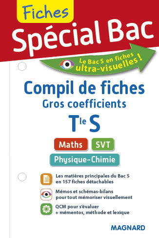 "2017 SPECIAL BAC COMPIL DE FICHES ""GROS COEFF"" TERM S"