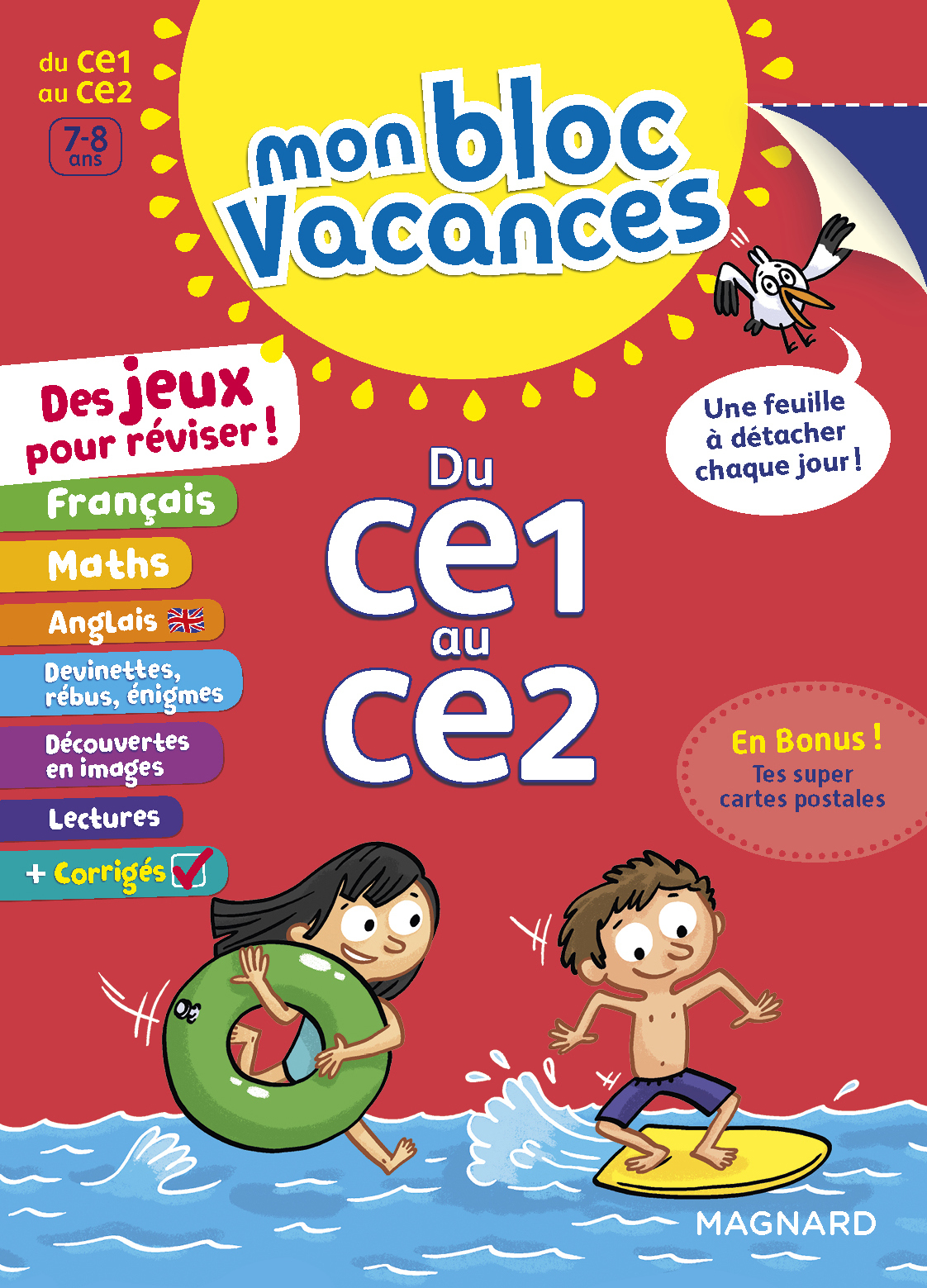 BLOC VACANCES CE1-CE2 (MON)