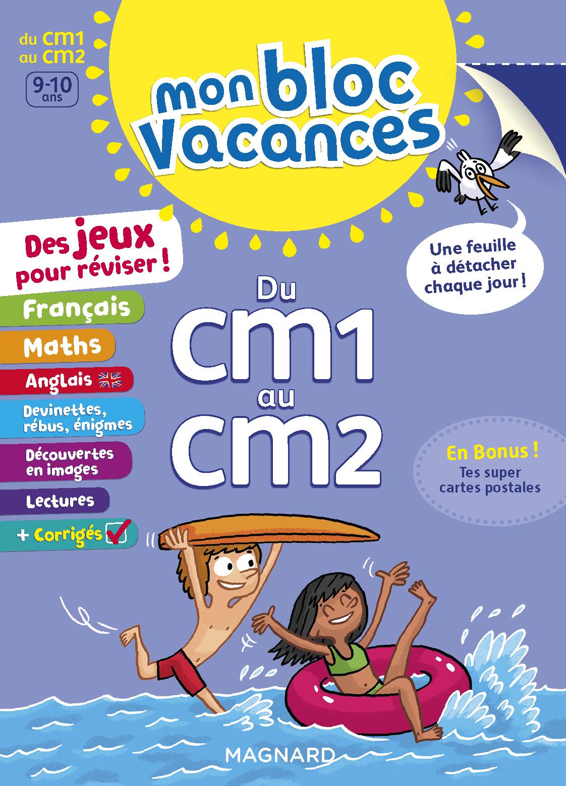 BLOC VACANCES CM1-CM2 (MON)