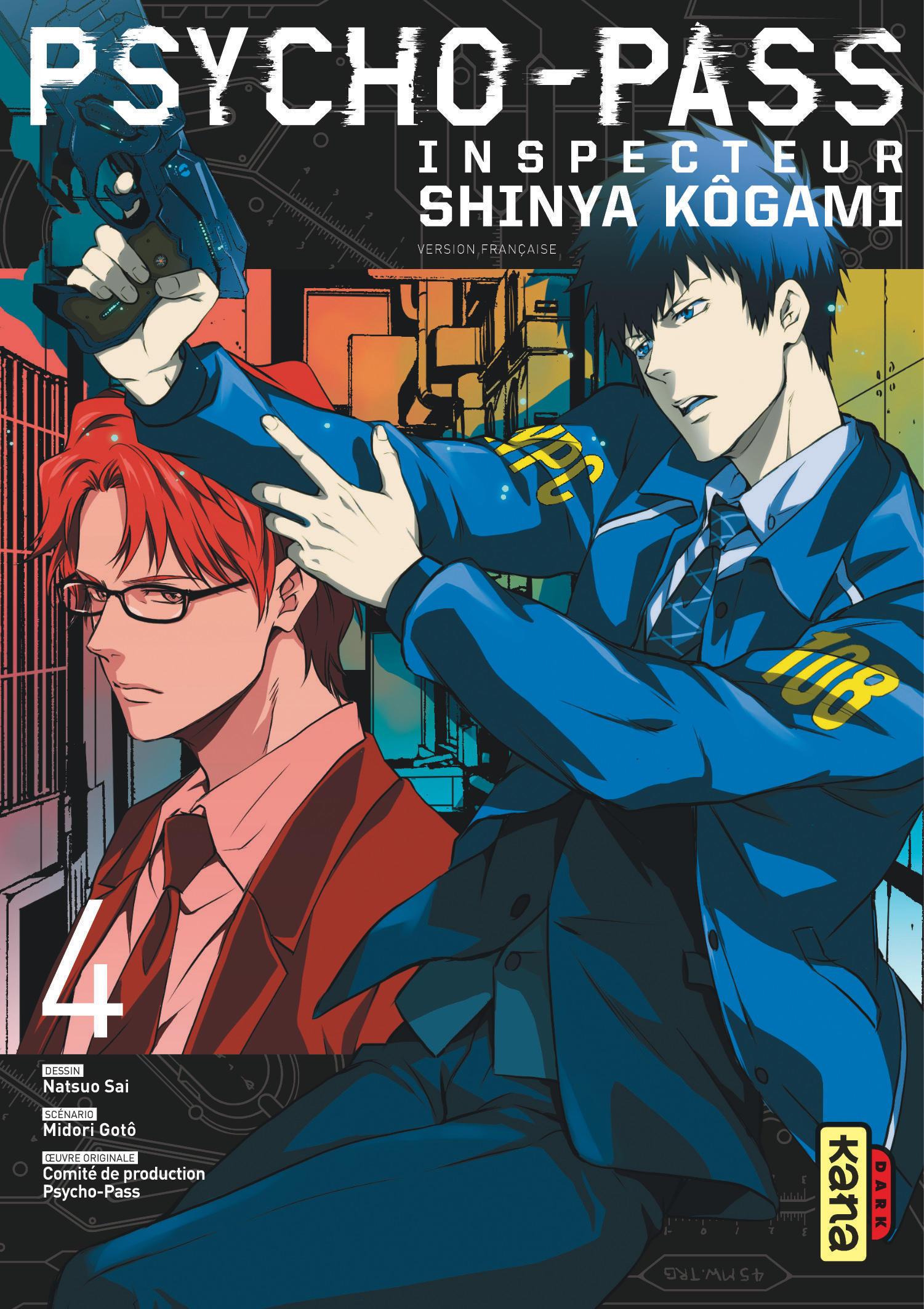 PSYCHO-PASS INSPECTEUR SHINYA KOGAMI - PROLOGUE T4