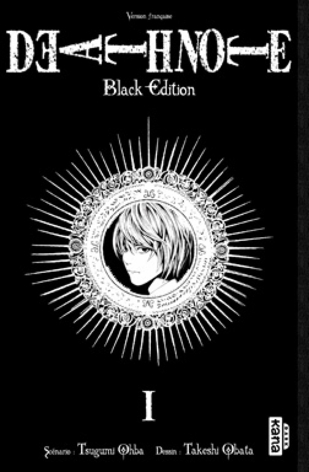 DEATH NOTE BLACK EDITION T1