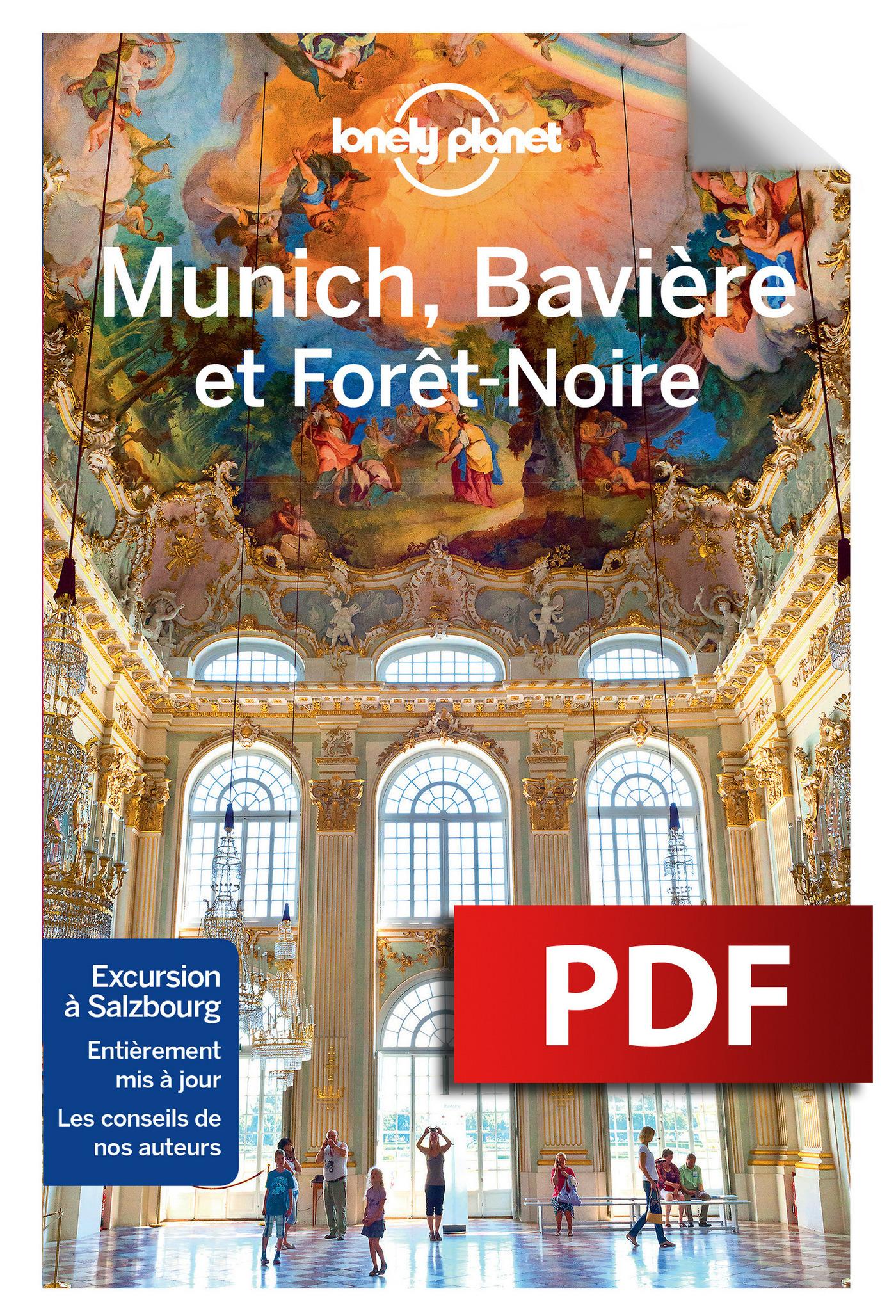 Munich la Bavière et la forêt noire - 2ed