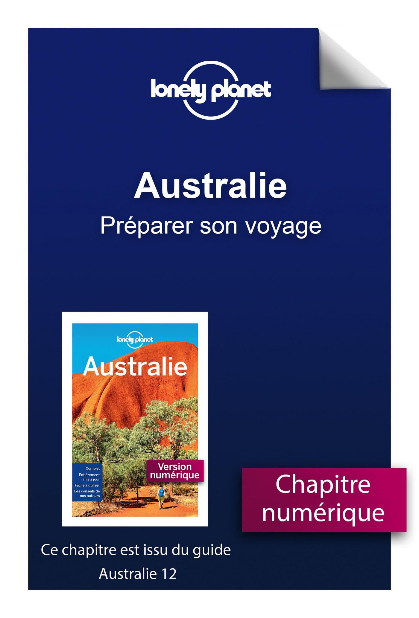 Australie - Préparer son voyage