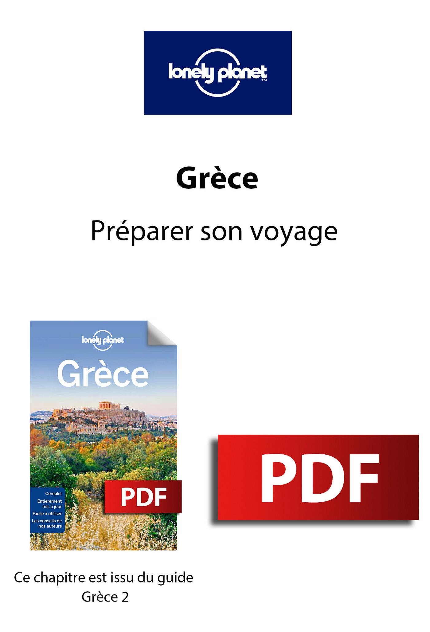 Grèce - Préparer son voyage