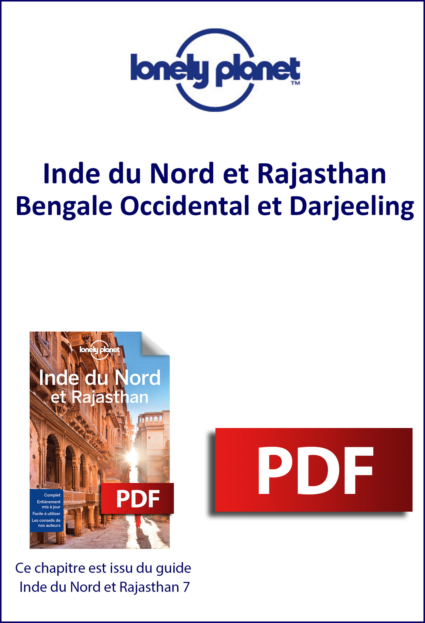Inde du Nord - Bengale Occidental et Darjeeling