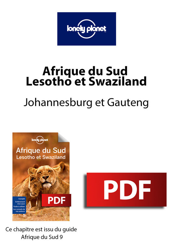 Afrique du Sud - Johannesburg et Gauteng