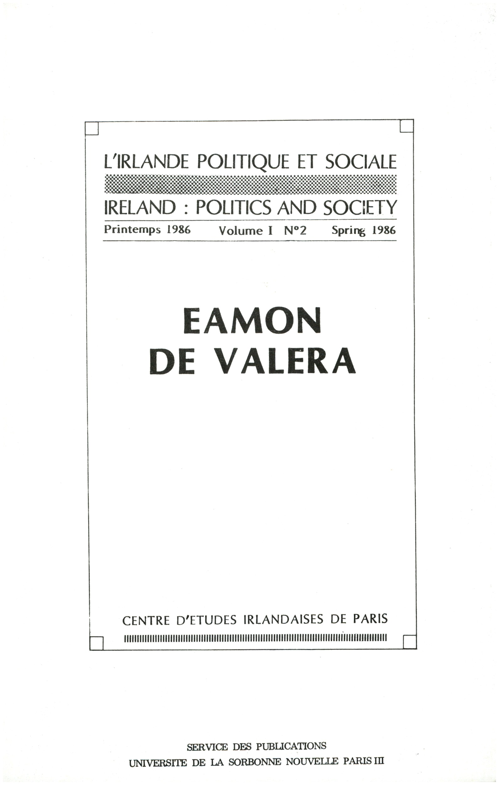 Eamon de Valera