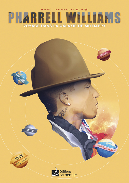 PHARELL WILLIAMS, VOYAGE DANS LA GALAXIE DE MR HAPPY