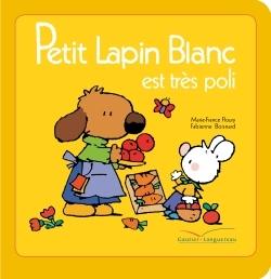 PETIT LAPIN BLANC EST TRES POLI