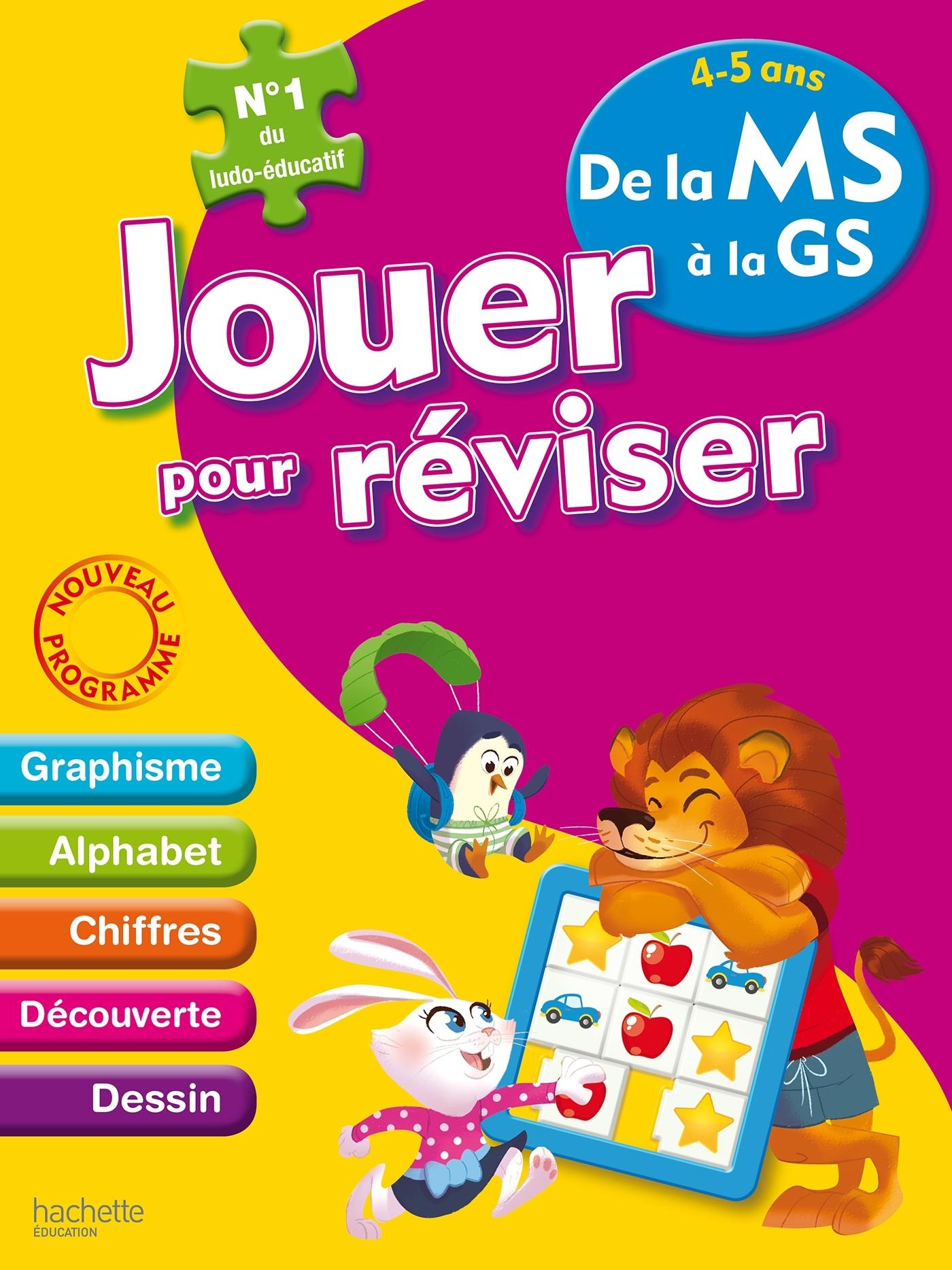 JOUER POUR REVISER - DE LA MOYENNE A LA GRANDE SECTION 4-5 ANS