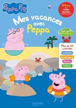 MES VACANCES AVEC PEPPA PIG PS A MS