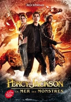 PERCY JACKSON - TOME 2 - LA MER DES MONSTRES (EDITION AVEC AFFICHE DU FILM EN COUVERTURE)