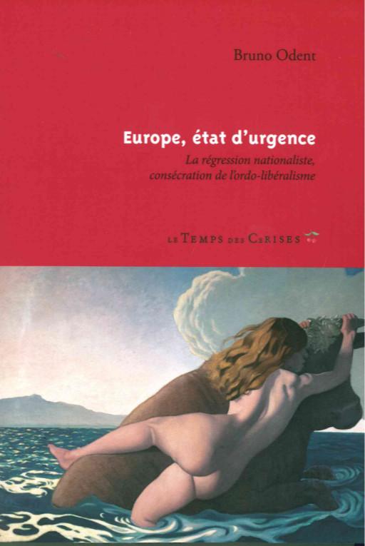 EUROPE,ETAT D'URGENCE