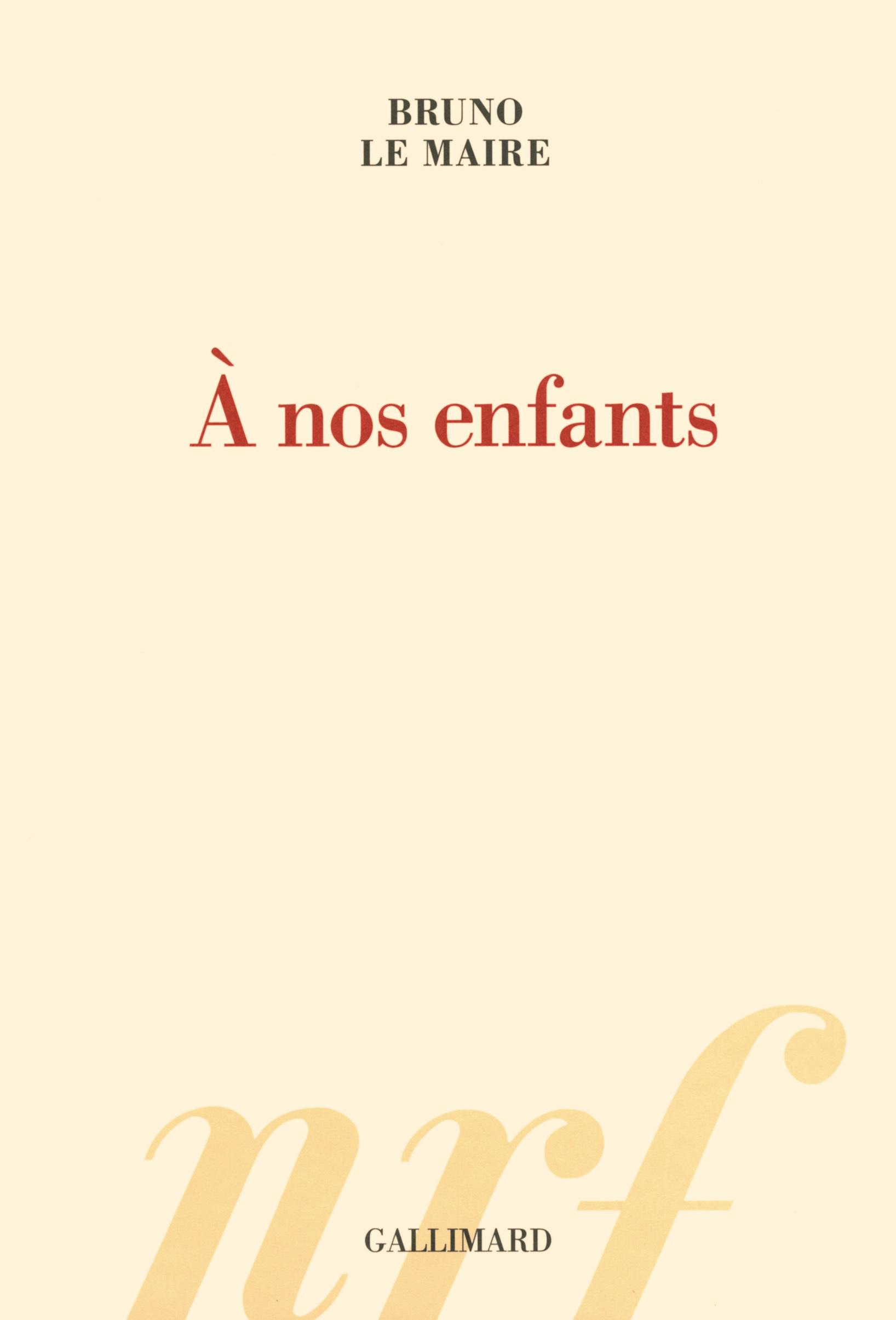 A NOS ENFANTS