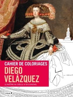 CAHIER DE COLORIAGES VELAZQUEZ