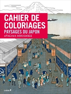 CAHIER DE COLORIAGES PAYSAGES DU JAPON