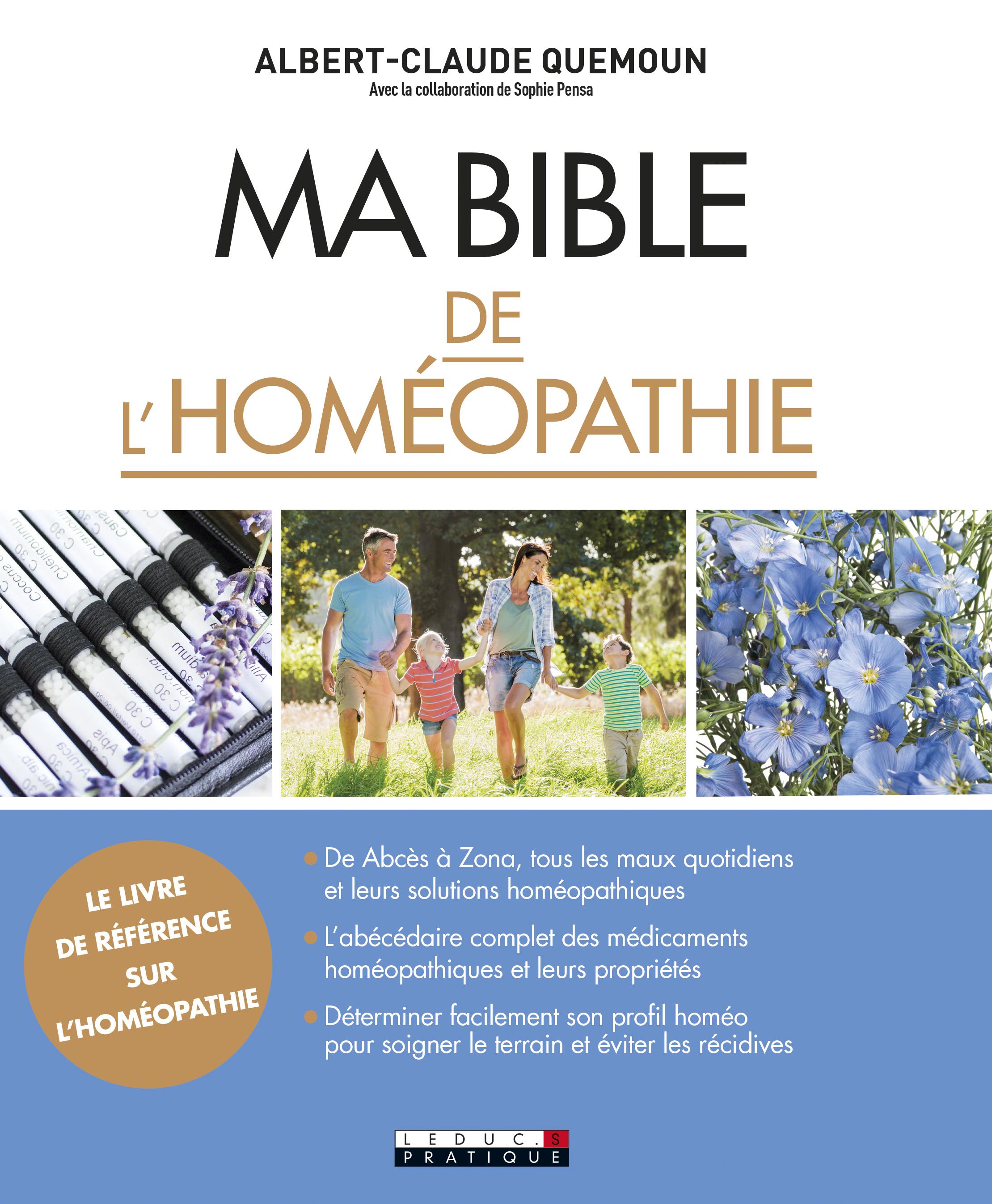 BIBLE DE L'HOMEOPATHIE (MA)