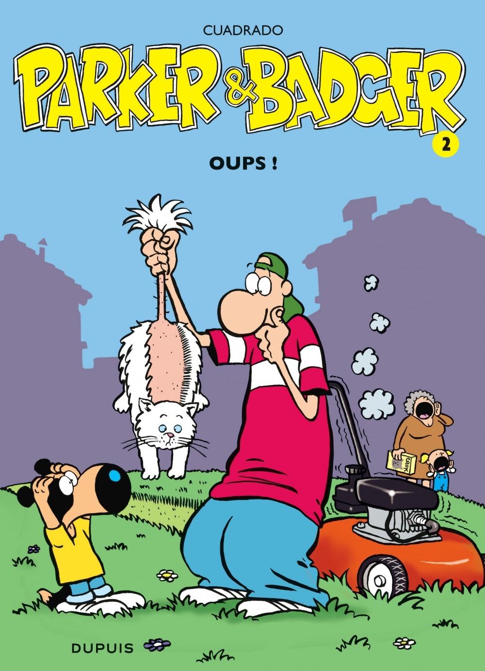 PARKER & BADGER T2 OUPS !