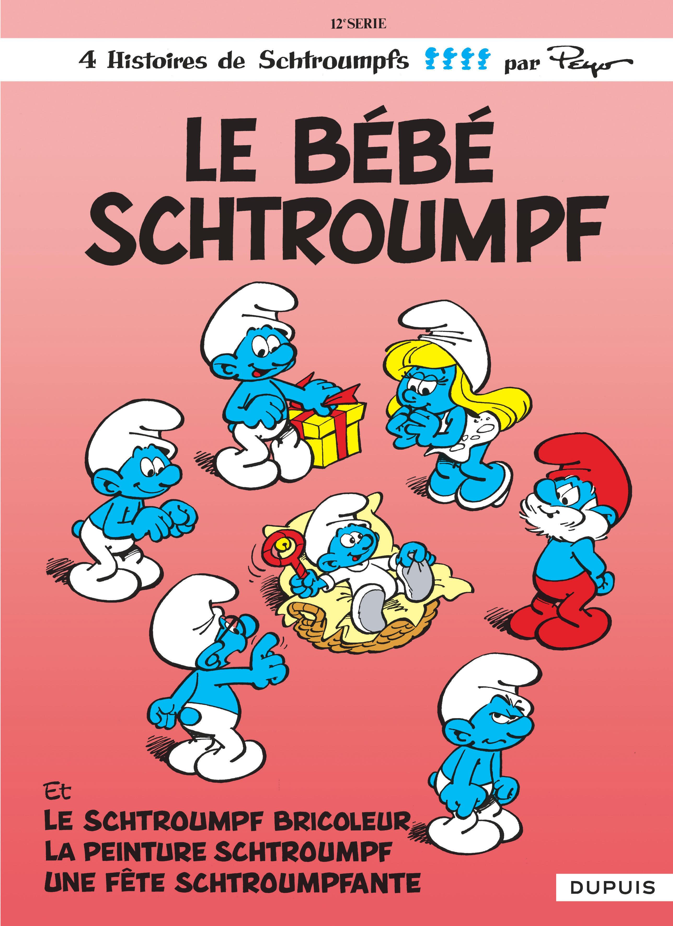 SCHTROUMPFS (DUPUIS) T12 LE BEBE SCHTROUMPF