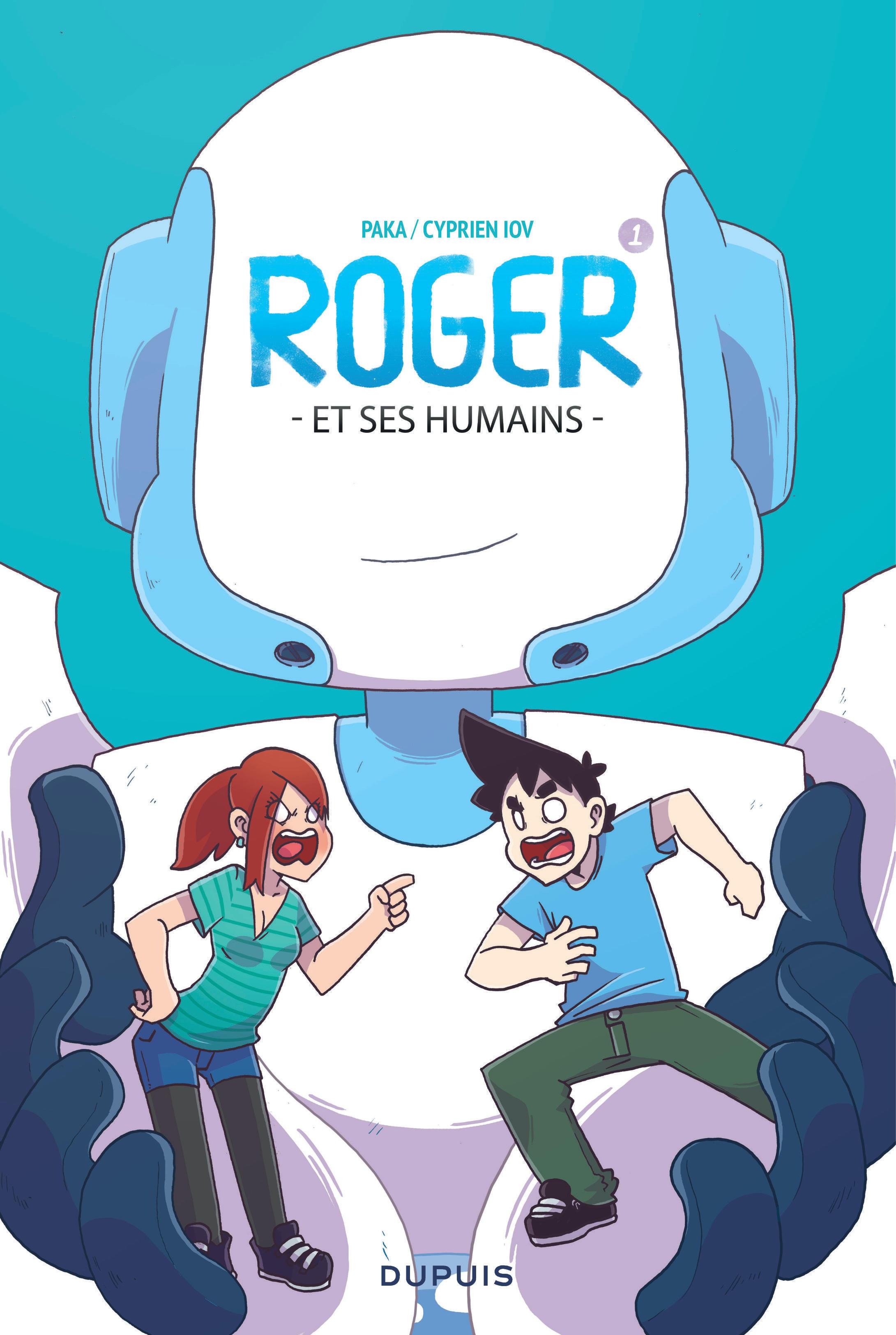 DISQUETTE T1 ROGER ET SES HUMAINS
