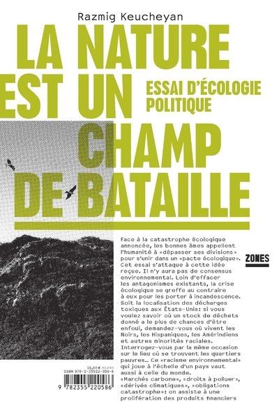 NATURE EST UN CHAMP DE BATAILL