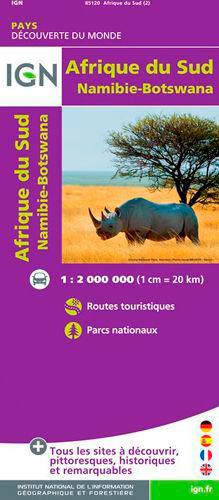 85120 AFRIQUE DU SUD/NAMIBIE/BOTSWANA  1/2M