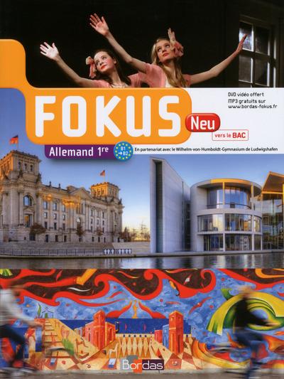 FOKUS ALLEMAND 1ERE MANUEL + DVD 2015