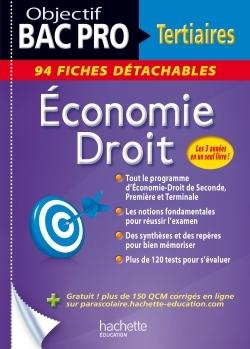 FICHES DETACHABLES ECONOMIE-DROIT BAC PRO 3 ANS