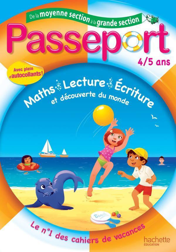 PASSEPORT - DE LA MOYENNE A LA GRANDE SECTION - 4/5 ANS