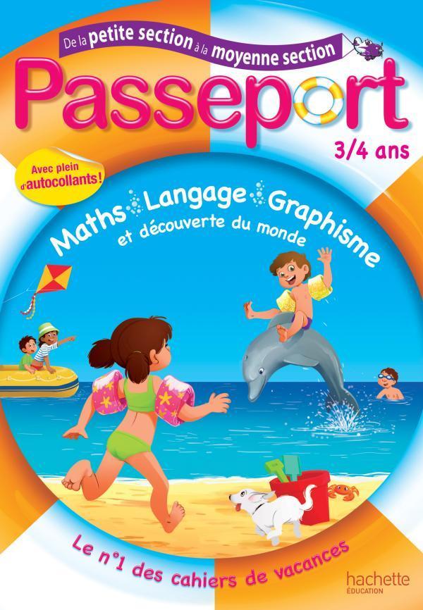 PASSEPORT - DE LA PETITE A LA MOYENNE SECTION - 3/4 ANS