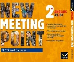 NEW MEETING POINT 2DE ED. 2014 - 3 CD AUDIO CLASSE
