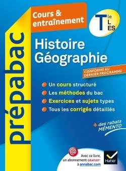 HISTOIRE-GEOGRAPHIE TLE L, ES - PREPABAC COURS & ENTRAINEMENT