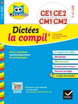 DICTEES CE1 AU CM2 LA COMPIL'