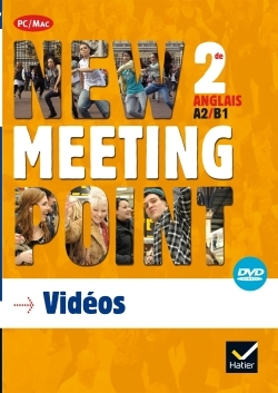 NEW MEETING POINT 2NDE ED. 2014 - DVD VIDEO + IMAGES FIXES
