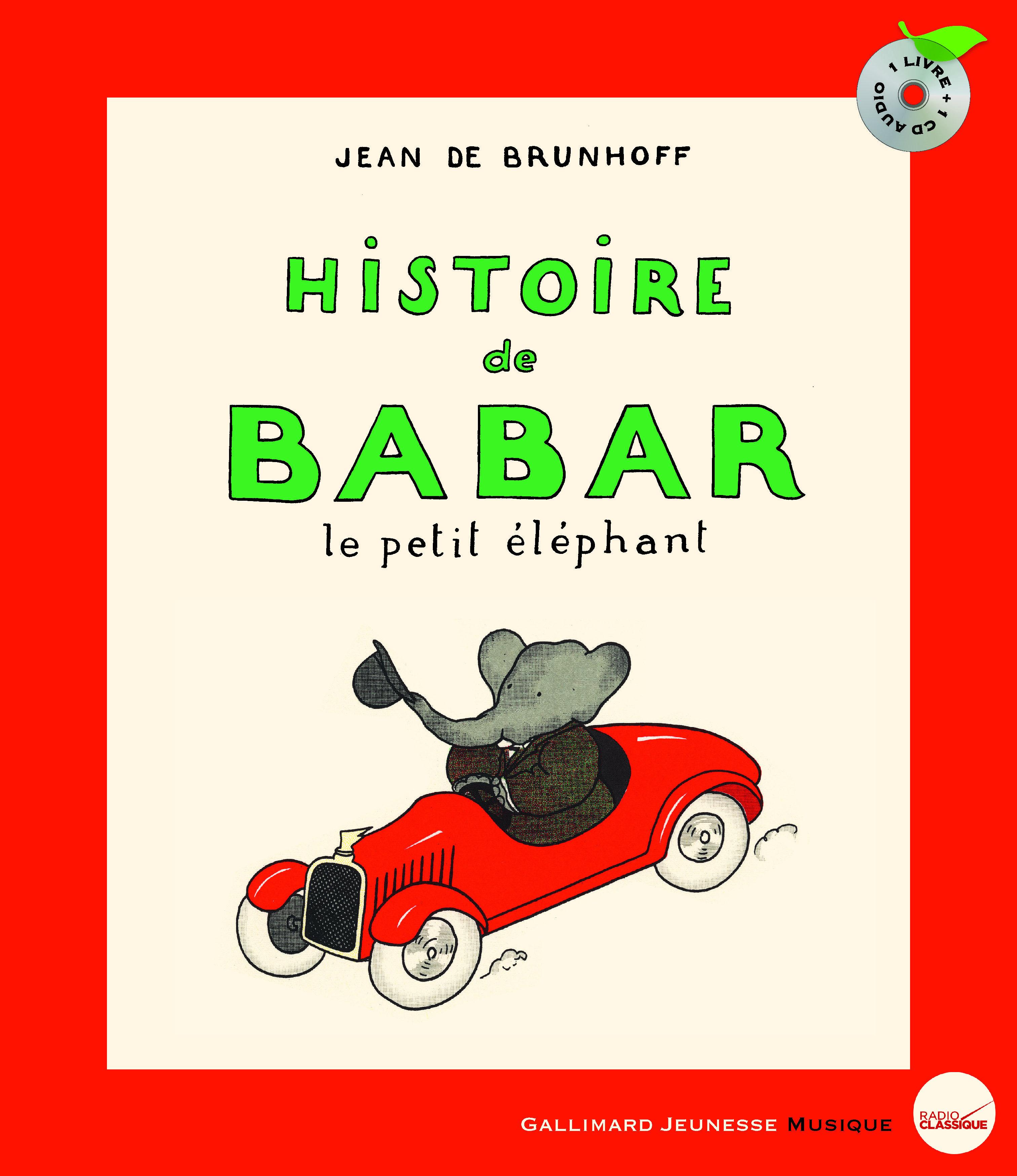 HISTOIRE DE BABAR LIVRE-CD
