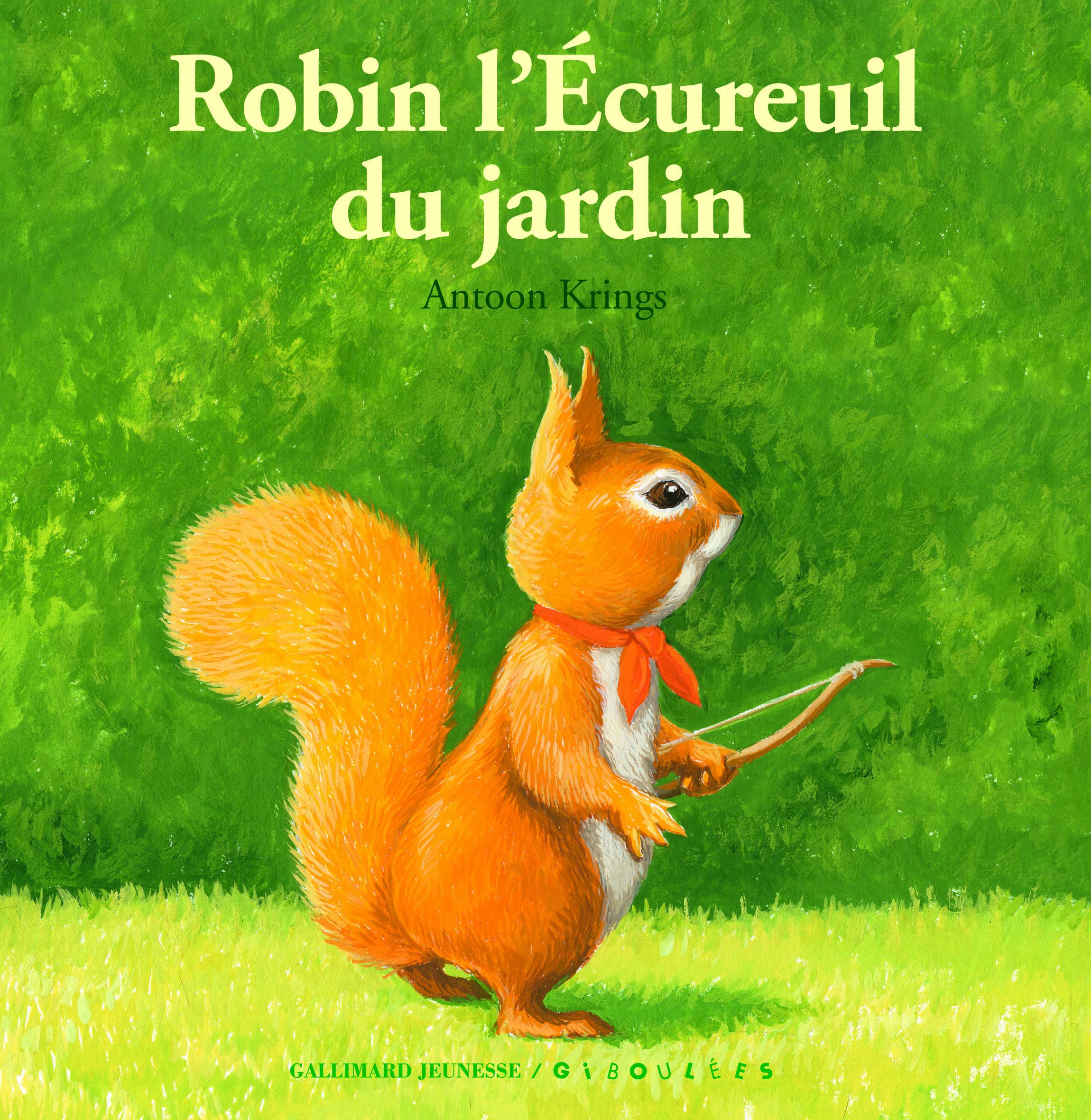 ROBIN L'ECUREUIL DU JARDIN