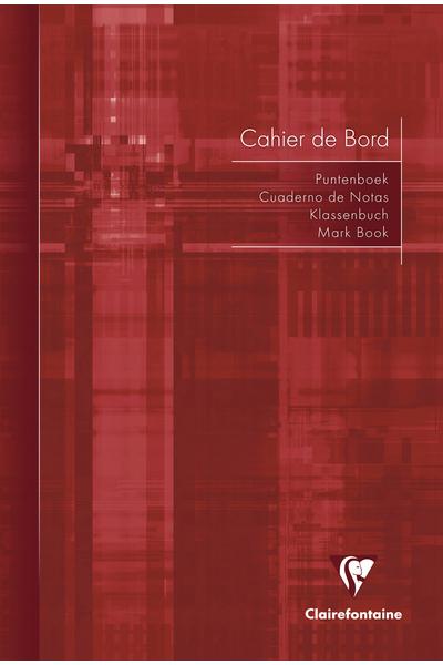 CAHIER DE BORD DU PROFESSEUR 21X29,7 COUVERTURE SOUPLE