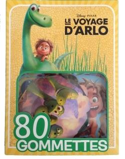 LE VOYAGE D'ARLO, MES 80 GOMMETTES