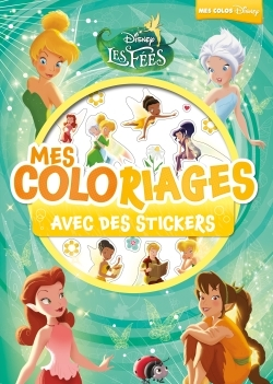 FEE CLOCHETTE, MES COLOS AVEC STICKERS