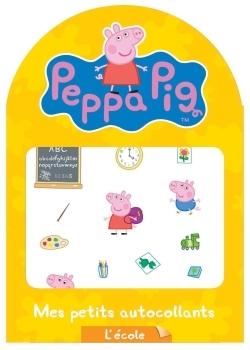 PEPPA PIG / MES PETITS AUTOCOLLANTS - L'ECOLE