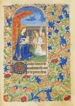 CARNET HEURES JEANNE DE FRANCE, ENFANT JESUS