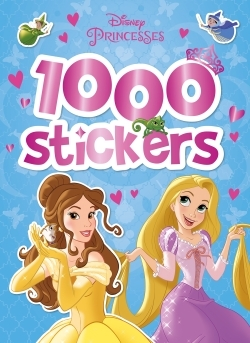 PRINCESSES, 1000 STICKERS