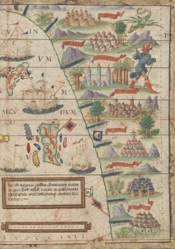 CARNET ATLAS NAUTIQUE DU MONDE MILLER 1, 1519