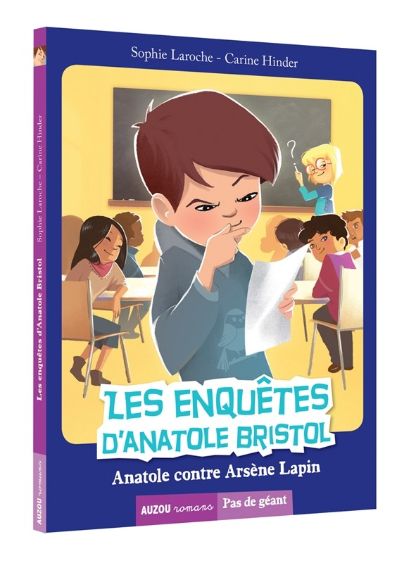 LES ENQUETES D'ANATOLE BRISTOL TOME 5 - ANATOLE CONTRE ARSENE LAPIN (COLL. PAS DE GEANT)