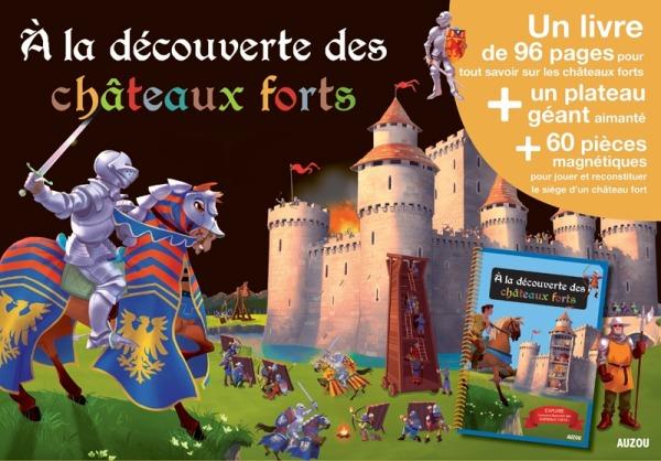 A LA DECOUVERTES DES CHATEAUX FORTS (COLL. MES PREMIERS COFFRETS D'APPRENTISSAGE)