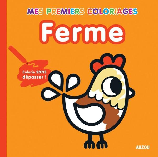 MES PREMIERS COLORIAGES - FERME