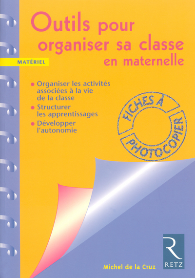 OUTILS ORGANISER CLASSE MATERN