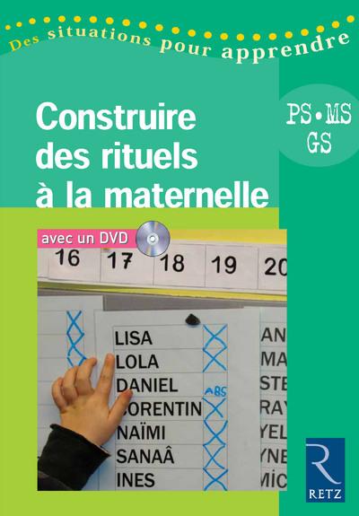 CONSTRUIRE RITUELS MATERNELLE