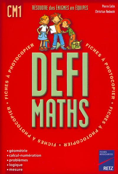 DEFI MATHS CM1